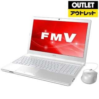 【アウトレット品】 15.6型ノートPC [Office付・AMD Eシリーズ・SSD 256GB・メモリ 4GB] LIFEBOOK AH41/C3  FMVA41C3W アーバンホワイト 【生産完了品】