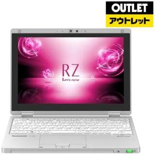 【アウトレット品】 10.1型ノートPC [Win10 Pro・Core m3・SSD 128GB・メモリ 8GB・Office付き] Let's note(レッツノート) RZシリーズ  CF-RZ6CDFQR シルバー 【外装不良品】