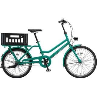 24/22型 自転車 トートボックス LARGE(E.Xコバルトグリーン/3段変速) TTB43T 6309 【組立商品につき返品不可】