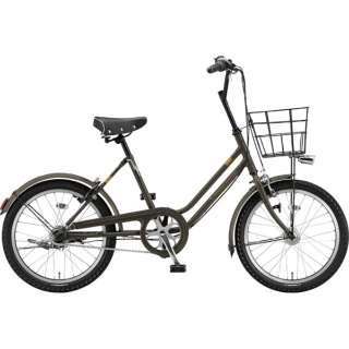 20型 自転車 ベガス 3T(カーキ/シングルシフト・ダイナモモデル) VEG00 6315 【組立商品につき返品不可】