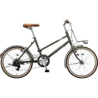 20型 自転車 マークローザ M7(T.XHカーキ(ツヤ消しカラー)/外装7段変速) MRK07T 6342 【組立商品につき返品不可】