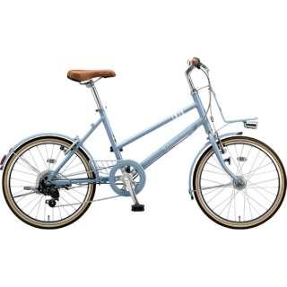 20型 自転車 マークローザ M7(T.Xマットブルーグレー(ツヤ消しカラー)/外装7段変速) MRK07T 6343 【組立商品につき返品不可】
