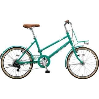 20型 自転車 マークローザ M7(E.Xコバルトグリーン/外装7段変速) MRK07T 6346 【組立商品につき返品不可】