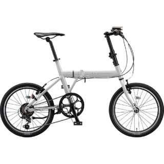 20型 折りたたみ自転車 シルヴァ F6F(E.Xアーバングレー/6段変速) YF6F20 6384 【組立商品につき返品不可】