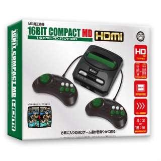 16ビットコンパクトMD HDMI CC-16CMH-BK
