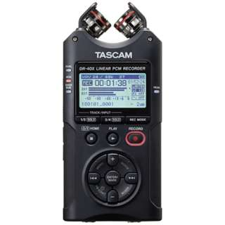 ICレコーダー DR-40X [ハイレゾ対応]