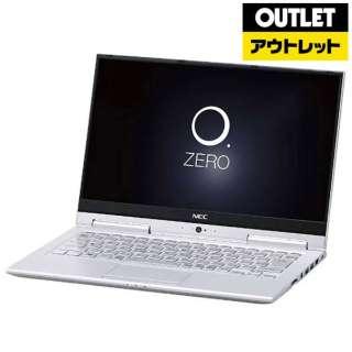 【アウトレット品】 13.3型ノートPC [Win10 Home・Core i5・SSD 256GB・メモリ 4GB・Offce付] LAVIE Hybrid ZERO  PC-HZ550GAS ムーンシルバー 【外装不良品】