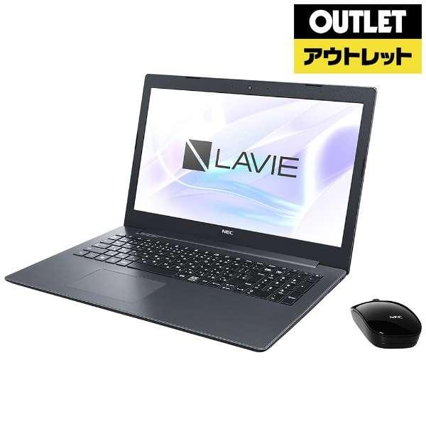 【アウトレット品】 15.6型ノートPC [Office・Win10 Home・Celeron・HDD 1TB・メモリ 4GB] LAVIE Note Standard  PC-NS150KAB カームブラック 【外装不良品】