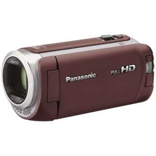 HC-W590M ビデオカメラ ブラウン [フルハイビジョン対応]