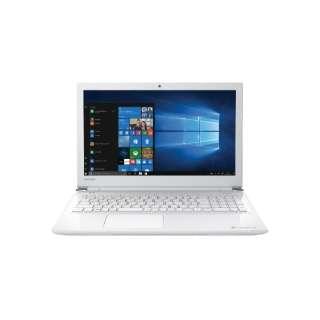 PB35-21GRDW ノートパソコン dynabook (ダイナブック)B35/21GW リュクスホワイト [15.6型 /intel Celeron /HDD:500GB /メモリ:4GB /2018年5月モデル]
