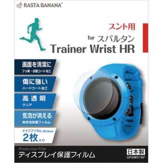 GPSウォッチフィルム スパルタン Trainer Wrist HR GPSW016F