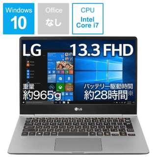 gram ノートパソコン ダークシルバー 13Z990-VA76J [13.3型 /intel Core i7 /SSD:512GB /メモリ:8GB /2019年2月モデル]