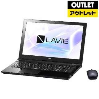 【アウトレット品】 15.6型ノートPC [Win10 Home・Celeron・HDD 1TB・メモリ 4GB・Office付] LAVIE Note Standard  PC-NS150HABスターリーブラック 【生産完了品】