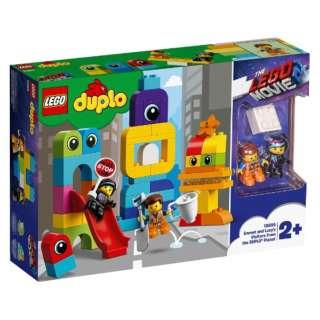 LEGO(レゴ) 10895 デュプロ レゴムービー2 エメットとルーシーのブロック・シティ