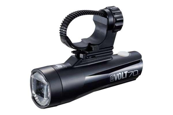 自転車のライトのおすすめ16選 キャットアイ「GVOLT70」HL-EL551RC