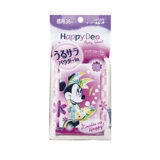 mandom(マンダム) Happy Deo(ハッピーデオ) ボディシート うるサラ クリアフローラル <徳用>〔デオドラント〕