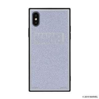 [iPhone XS/X専用]MARVEL/マーベルTILEケース/ロゴ 151-905135 シルバー/グリッター