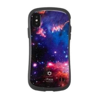 [iPhone XS Max専用]iFace First Class Universeケース 41-905821 ネビュラ