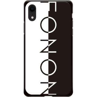iPhone XR FONON TYPO SERIES FONON Divide Black