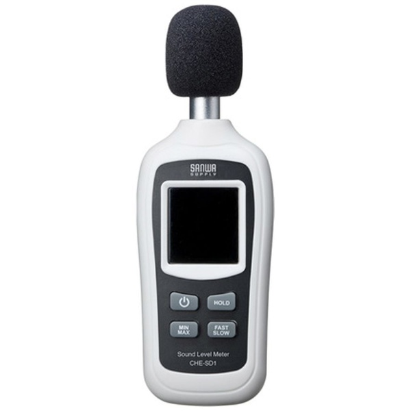 サンワサプライ デジタル騒音計 CHE-SD1 1個