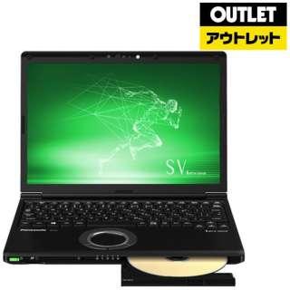 【アウトレット品】 12.1型ノートPC [Office付・Core i7・SSD 256GB・メモリ 8GB] Let's note(レッツノート) SVシリーズ CF-SV8DDUQR ブラック 【生産完了品】