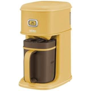 コーヒーメーカー アイスコーヒーメーカー キャラメル ECI-661(CRML)