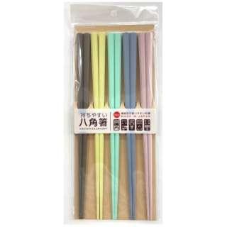八角箸(5本組)