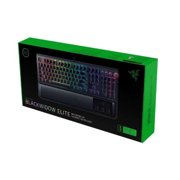 RZ03-02620800-R3J1 ゲーミングキーボード BlackWidow Elite JP Green Switch [USB /有線]