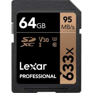 SDXCカード Lexar Professional LSD64GCB1AP633 [64GB /Class10]