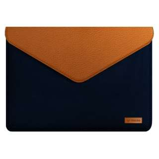 Mozo Sleeve for Surface Laptop-Blue MOZES13BBR-P Blue/Brown