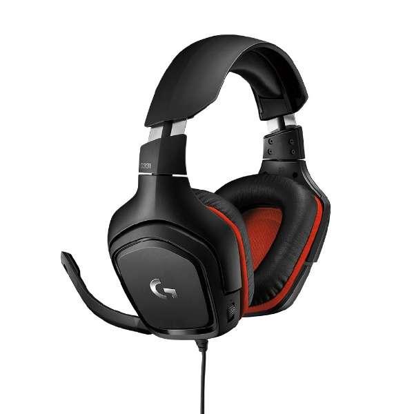 G331 ゲーミングヘッドセット ロジクールG [φ3.5mmミニプラグ /両耳 /ヘッドバンドタイプ]