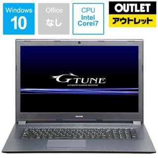 【アウトレット品】 17.3型ゲーミングノートPC [Core i7・SSD 256GB・メモリ 8GB・GTX1060] G-TUNE NG-N17EPM8S2W 【数量限定品】