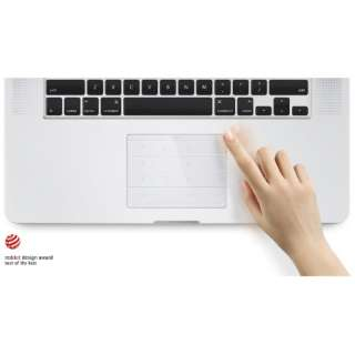 Nums(ナムス) MACP15【Macbook Pro 15インチ  2016以降 】対応 MAC Pro15 クリア [ワイヤレス]