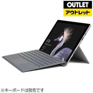 【アウトレット品】 12.3型Windowsタブレット [Office付・Core i7・SSD 1TB・メモリ 16GB] Surface ProFKK-00031 シルバー 【生産完了品】