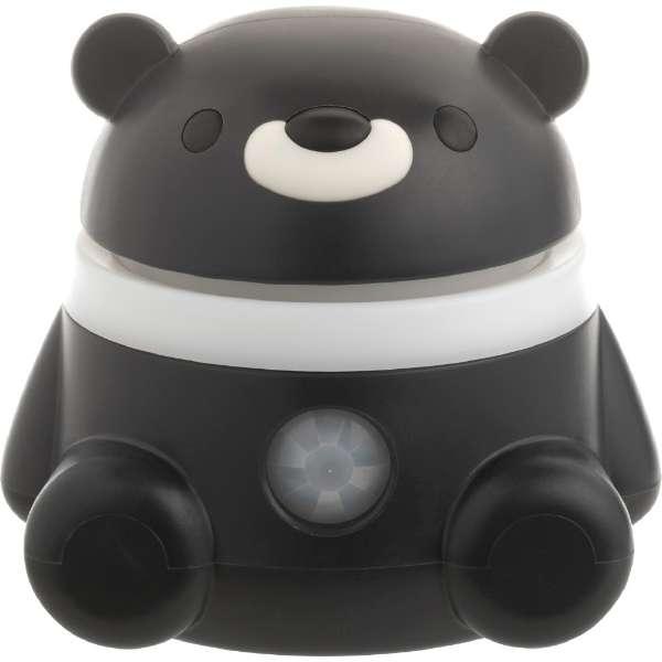 Hamic BEAR(ハミックベア)子どものための音声メッセージロボット 282-885314 ブラック