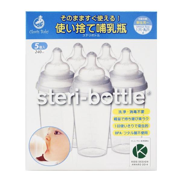 クロビスベビーの哺乳瓶