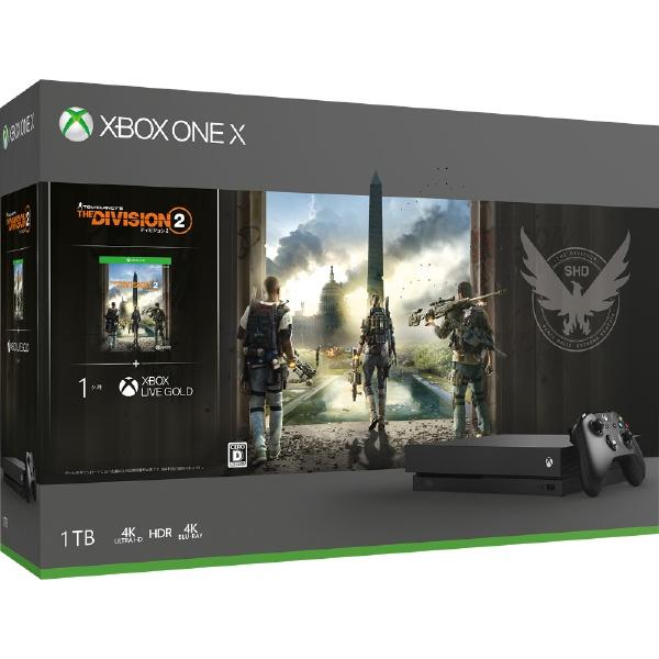 Xbox One X ディビジョン2 同梱版 [1TB]