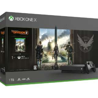 Xbox One X(ディビジョン2 同梱版) CYV-00270 [ゲーム機本体]