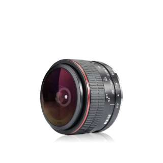 カメラレンズ 6.5mm F2.0 [FUJIFILM X /単焦点レンズ]