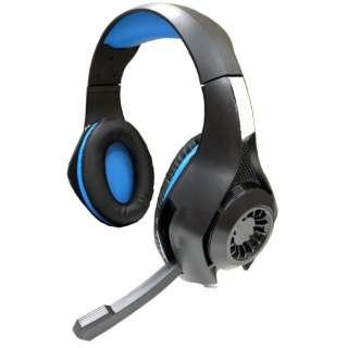 PS4用 ゲーミングエディション ヘッドセット ブルー (Switchフォートナイト対応) 【PS4】