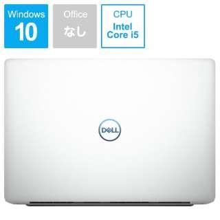Dell G3 15 3579 ゲーミングノートパソコン ホワイト NG45-9HLCW [15.6型 /intel Core i5 /HDD:1TB /SSD:128GB /メモリ:8GB /2019年春モデル]