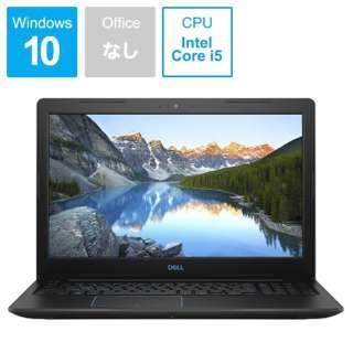 Dell G3 15 3579 ゲーミングノートパソコン ブラック NG45-9HLCB [15.6型 /intel Core i5 /HDD:1TB /SSD:128GB /メモリ:8GB /2019年春モデル]