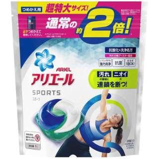 ARIEL(アリエール)ジェルボール3Dプラチナスポーツ つめかえ用超特大サイズ〔洗濯洗剤〕 (26個)
