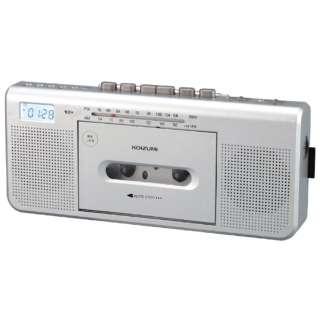 ステレオラジカセ SDD-1250/S シルバー [ワイドFM対応]