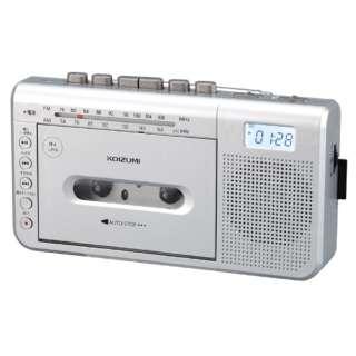 モノラルラジカセ SDD-1750/S シルバー [ワイドFM対応]