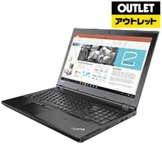 【アウトレット品】 15.6型ノートPC [Win10 Pro・Core i5・HDD 500GB・メモリ 4GB] ThinkPad L570  20J80006JP 【数量限定品】