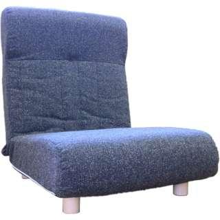 【座椅子】一人掛け プログレッソ脚つきタイプ (エレガンス/ブラック)