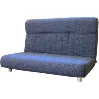 【座椅子】二人掛け プログレッソ脚つきタイプ (エレガンス/ブラック)