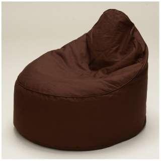【ビーズクッション】スノーボム(巾50×高さ20~50×奥行55cm/ブラウン)