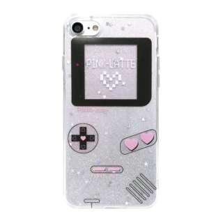 iPhone8/7 PINK-latte [ゲーム/ホワイト] md-74232WHT